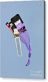 Kimono Dolls Acrylic Print by David Lade