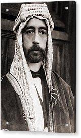 King Faisal Faysal Of Iraq 1885�33 Acrylic Print by Everett