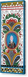 King Karl Johan Of Sweden Acrylic Print by Leif Sodergren
