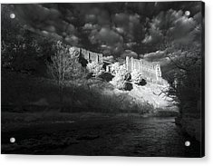 King's Arthur's Castle Acrylic Print by Matt Nuttall