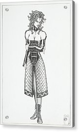 Kira - The Viper Acrylic Print by Sean Smith