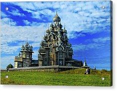 Acrylic Print featuring the photograph Kishi Dome by Rick Bragan