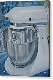 Kitchen Mixer Acrylic Print by Terry Forrest