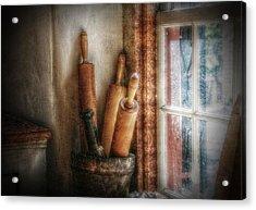 Kitchen Window Acrylic Print by Christine Annas