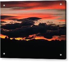 Kitseguecla Sunset Acrylic Print