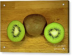 Kiwi Kiwi And More Kiwi Acrylic Print by Michael Waters