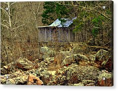 Acrylic Print featuring the photograph Klepzig Mill by Marty Koch