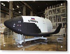 Kliper Spacecraft Acrylic Print by Ria Novosti