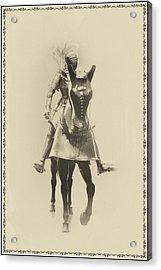 Knight In Shining Armor Acrylic Print by Bill Cannon
