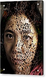 Knit Together Acrylic Print by Christopher Gaston