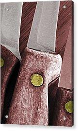 Knives II Acrylic Print by Bill Owen