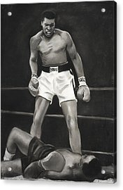 Knockdown Acrylic Print by L Cooper