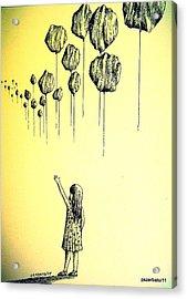 Knowledge Without Wisdom I Acrylic Print by Paulo Zerbato
