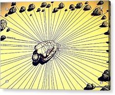 Knowledge Without Wisdom IIi Acrylic Print by Paulo Zerbato