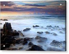 Koloa Dawning Acrylic Print by Mike  Dawson
