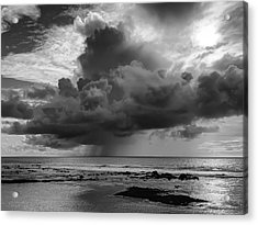 Kona Coast Squall - Big Island Hawaii Acrylic Print by Daniel Hagerman