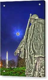 Korean War Memorial Acrylic Print by Metro DC Photography