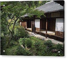 Koto-in Zen Tea House And Garden - Kyoto Japan Acrylic Print by Daniel Hagerman