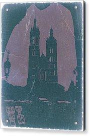 Krakow Acrylic Print by Naxart Studio
