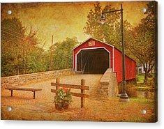 Kreidersville Bridge 2 Acrylic Print