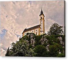 Kreuzbergkirche - Pleystein Acrylic Print