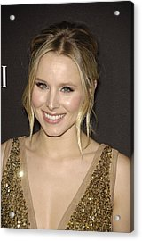 Kristen Bell At Arrivals For 12th Acrylic Print