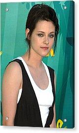 Kristen Stewart At Arrivals For Teen Acrylic Print by Everett