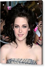 Kristen Stewart At Arrivals For The Acrylic Print by Everett
