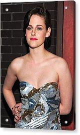 Kristen Stewart Wearing An Emilio Pucci Acrylic Print by Everett