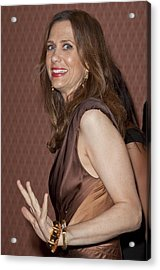 Kristen Wiig At Arrivals For Hbo Acrylic Print by Everett