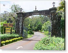 Kukuiolono Park And Golf Course Acrylic Print
