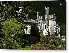 Kylemore Abbey, Connemara, County Acrylic Print by Peter Zoeller