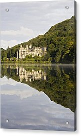 Kylemore Abbey, County Galway, Ireland Acrylic Print by Peter McCabe