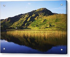 Kylemore Lake, Co Galway, Ireland Lake Acrylic Print