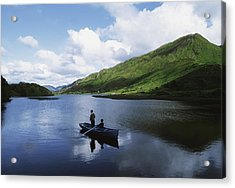 Kylemore Lake, Co Galway, Ireland Acrylic Print by The Irish Image Collection