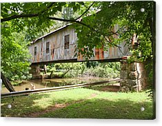 Kymulga Covered Bridge Acrylic Print