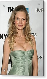Kyra Sedgwick At Arrivals For Hamptons Acrylic Print by Everett