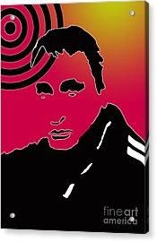 L R Emerson II American Upside Down Artist Acrylic Print by L R Emerson II