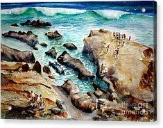 La Jolla Shores Acrylic Print