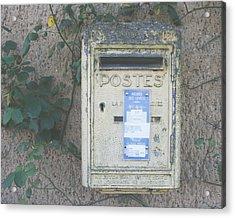 La Poste Acrylic Print by Georgia Fowler