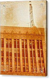 La Radio Tower Acrylic Print by Gregory Dyer
