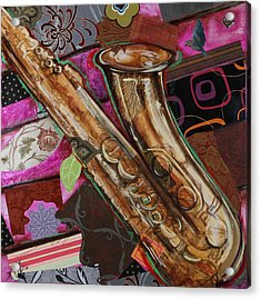 La The Sax Acrylic Print