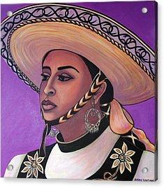 La Vaquera Acrylic Print