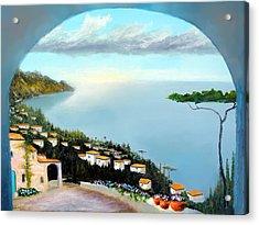 La Vista Del Mare Acrylic Print
