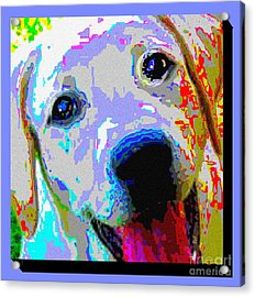 Lab Love Acrylic Print