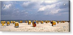 Laboe Beach ... Acrylic Print