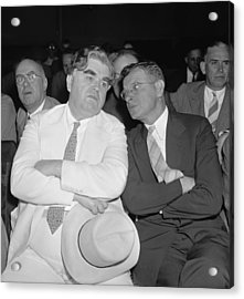 Labor Leaders, John L. Lewis And Sidney Acrylic Print