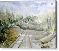 Labrador Wilderness Acrylic Print by Ramona Kraemer-Dobson
