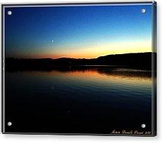 Lac Caribou Quebec Acrylic Print