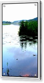 Acrylic Print featuring the photograph Lac William Quebec by Danielle  Parent